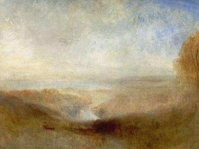 Landscape With a River And a Bay In the Distance, 19th Century by J. M. W. Turner