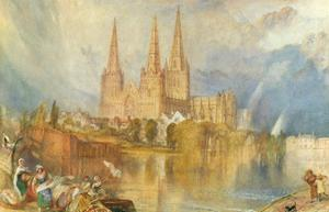 Lichfield, Staffordshire, 1830 by J. M. W. Turner