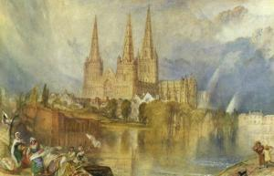Lichfield, Staffordshire, c.1830-35 by J. M. W. Turner