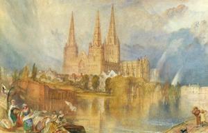 Lichfield, Staffordshire by J. M. W. Turner