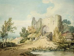 Llanblethian Castle Gateway, 1797 by J. M. W. Turner