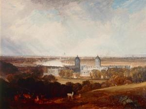 London from Greenwich Park by J. M. W. Turner