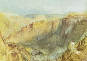 Luxembourg from the North by J. M. W. Turner