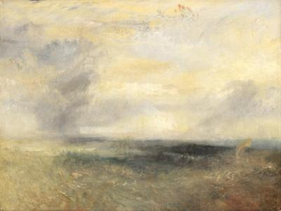 Margate, from the Sea, Ca 1835 by J. M. W. Turner