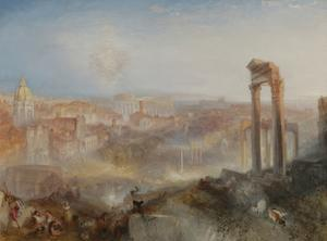 Modern Rome, Campo Vaccino, 1839 by J. M. W. Turner