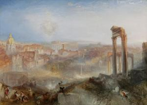 Modern Rome - Campo Vaccino by J. M. W. Turner