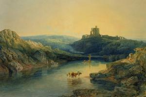Norham Castle: Morning, C.1797 by J. M. W. Turner