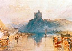 Norham Castle on the River Tweed, 1822 by J. M. W. Turner