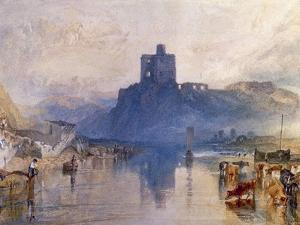Norham Castle, on the River Tweed, C. 1822-1823 by J^ M^ W^ Turner