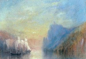 On the Rhine, 1830 by J. M. W. Turner