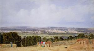 Oxford from Hinksey Hill by J. M. W. Turner