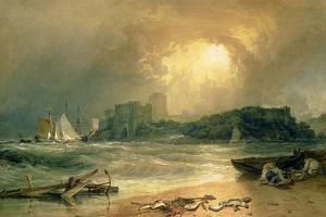 Pembroke Castle by J. M. W. Turner