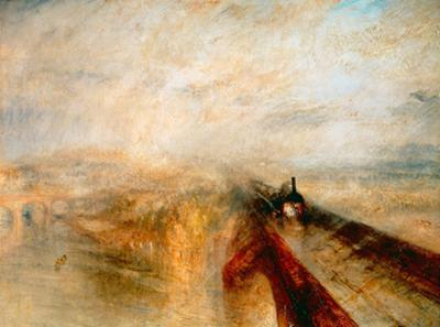 Rain Steam and Speed- The Great Western Railway, 1844 by J. M. W. Turner