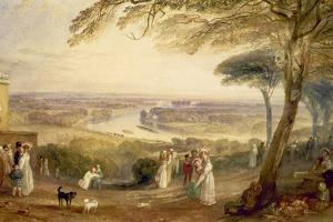 Richmond Terrace, Surrey, Summer, 1836 by J. M. W. Turner