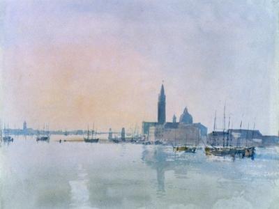 San Giorgio Maggiore from the Dogana, 1819 by J. M. W. Turner