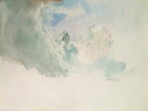 Sky Study by J^ M^ W^ Turner