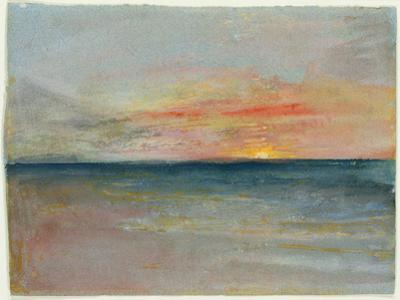 Sky Study by J. M. W. Turner