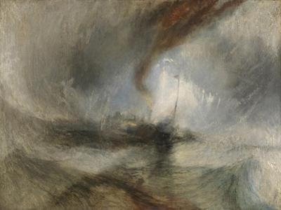 Snow Storm - Steam-Boat Off a Harbour's Mouth by J. M. W. Turner