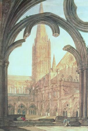 South View of Salisbury Cathedral, 1802 by J. M. W. Turner