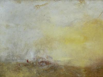 Sunrise with Sea Monsters by J. M. W. Turner