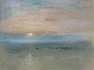 Sunset, C.1830 by J. M. W. Turner