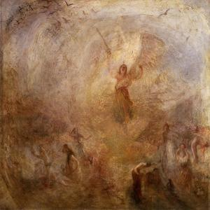 The Angel Standing in the Sun by J. M. W. Turner