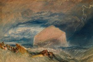 The Bass Rock, C.1824 by J. M. W. Turner