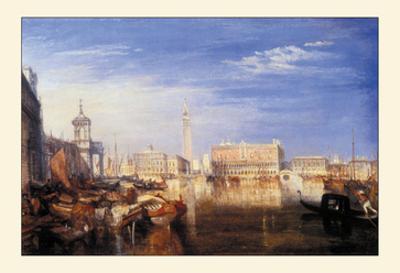 The Bridge of Sighs by J. M. W. Turner