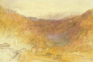 The Brunig Pass from Meiringen, Switzerland by J. M. W. Turner