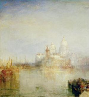 The Dogana and Santa Maria Della Salute, Venice, 1843 by J. M. W. Turner