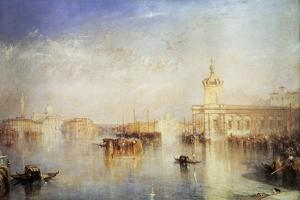 The Dogana, San Giorgio, Citella, from the Steps of the Europa, Venice, 1842 by J. M. W. Turner