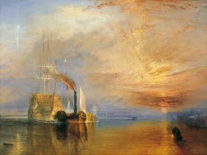 The Fighting Temeraire, 1838 by J. M. W. Turner