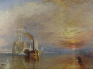 The Fighting Temeraire, 1839 by J. M. W. Turner
