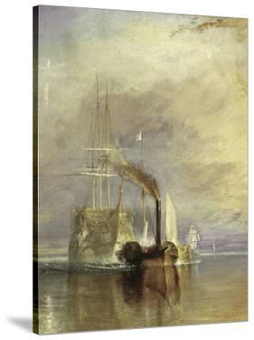 The Fighting Temeraire - Detail by J. M. W. Turner