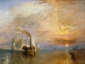 "The ""Fighting Temeraire"" Tugged to Her Last Berth to be Broken Up, Before 1839 by J. M. W. Turner"