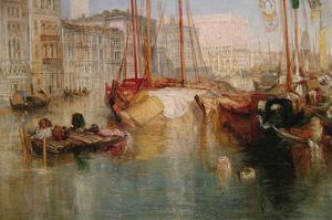 The Grand Canal in Venice by J. M. W. Turner