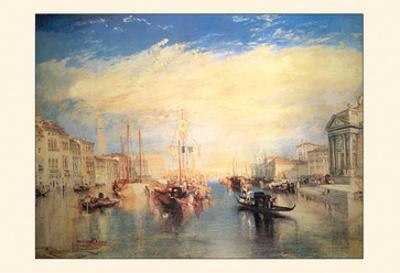The Grand Canal, Venice by J. M. W. Turner
