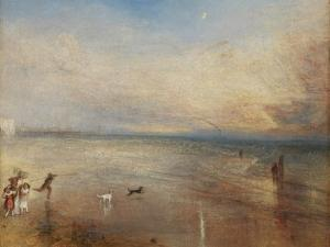 The New Moon; Or, 'I've Lost My Boat, You Shan't Have Your Hoop' by J. M. W. Turner