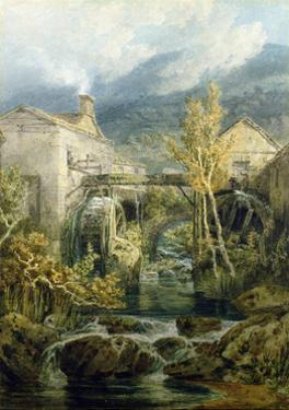 The Old Mill, Ambleside by J. M. W. Turner