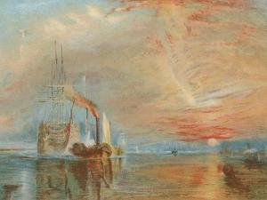 The Old Temeraire Tugged to Her Last Berth by J. M. W. Turner
