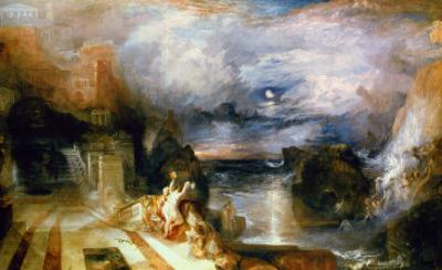 The Parting of Hero and Leander by J. M. W. Turner