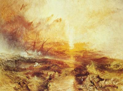 The Slave Ship by J. M. W. Turner