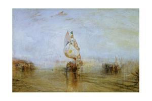 The Sun of Venice Going to Sea, 1843 by J. M. W. Turner