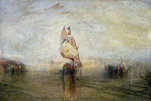 The Sun of Venice Going to Sea by J. M. W. Turner