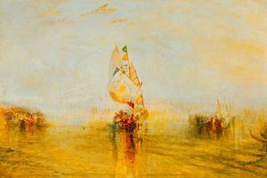 The Sun of Venice Setting Sail, 1843 by J. M. W. Turner