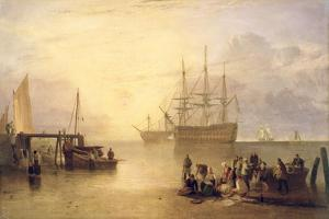 The Sun Rising Through Vapour, C.1809 by J. M. W. Turner