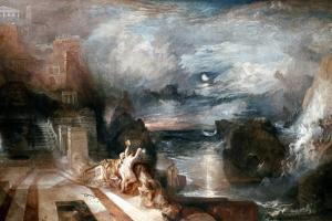 Turner: Hero & Leander by J. M. W. Turner