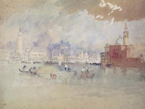 Venice, as Seen from the Lagoon by J. M. W. Turner