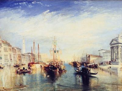 Venice, from the Porch of the Madonna Della Salute, C1835 by J. M. W. Turner