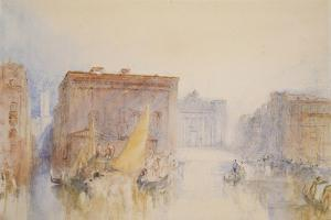 Venice: the Accademia, 1840 by J. M. W. Turner